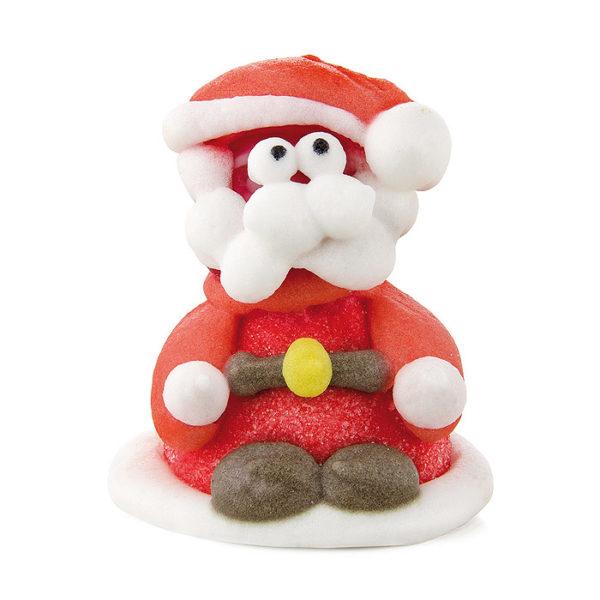 Figura Papa Noel de gominola y azúcar