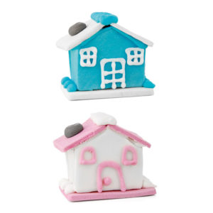 Figuras de azúcar casas grandes