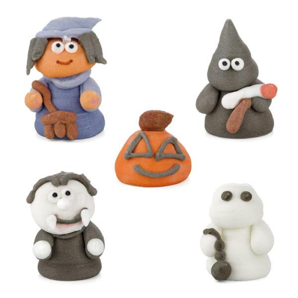 Figuras de azúcar Halloween
