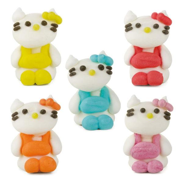 Figuras de azúcar Kitty