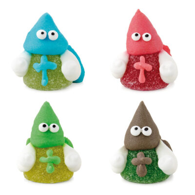 Figuras gominola y azúcar de nazarenos