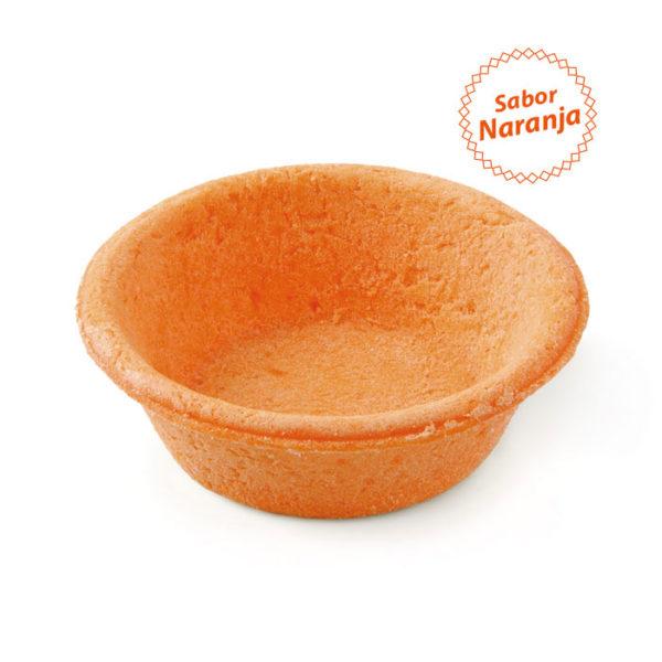 Tartaleta sabor naranja