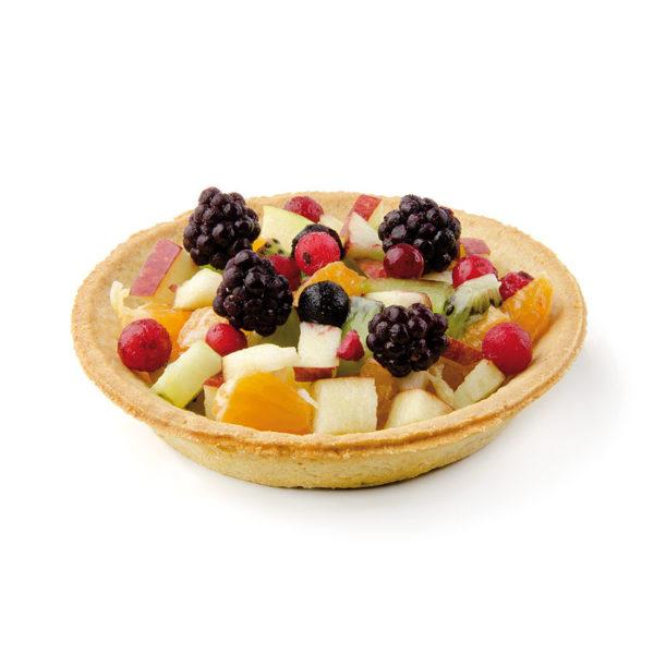 Tartaleta con medida especial 110 con fruta