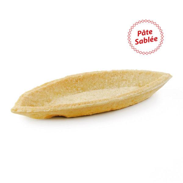 Tartaleta gourmet barca de pate sablée