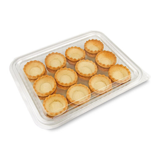 Tartaleta de pasta brisa formato supermercado