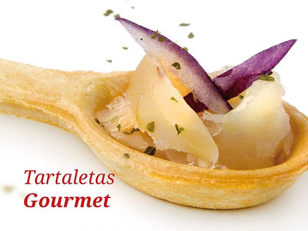 Tartaletas Gourmet de Pate Sablée