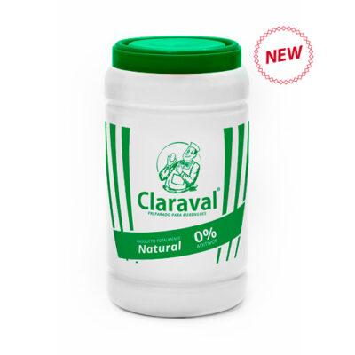 Claraval sin aditivos albúmina de huevo preparado para merengues