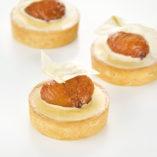 Tartaleta cilindro de Ø 55mm con relleno dulce