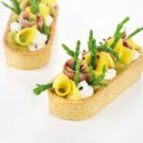 Tartaleta Ovale de 90 mm con relleno salado