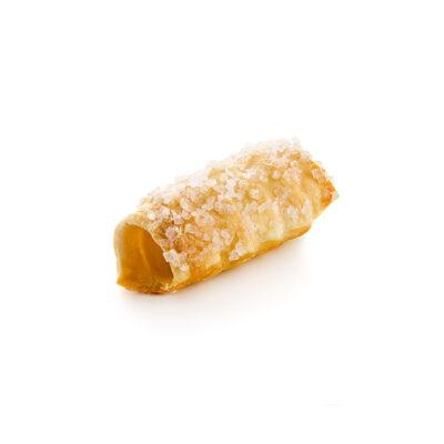 Mini caña de hojaldre con azúcar perlado