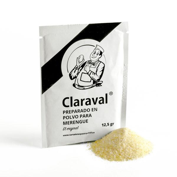 Preparado de merengues sobre 12,5 gramos Claraval